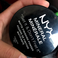 NYX Mineral Finishing Powder uploaded by Mar M.