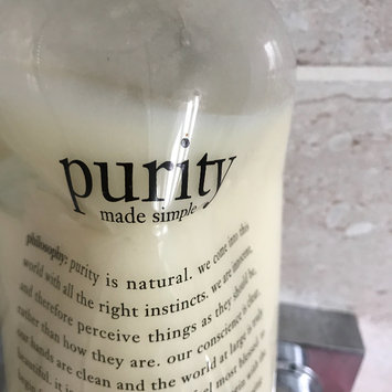 Photo of philosophy purity made simple one-step facial cleanser uploaded by Kat W.