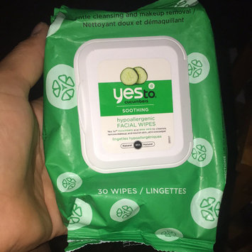 Photo of Yes To Cucumbers Shooting Hypoallergenic Facial Wipes uploaded by Sheree L.