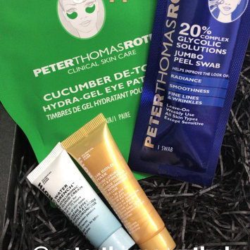 Photo of Peter Thomas Roth Un-Wrinkle(TM) 24k Gold Intense Wrinkle Sheet Mask uploaded by Stephanie I.