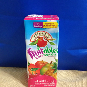 Photo of Apple & Eve® Fruitables® Fruit Punch Fruit & Vegetable Juice 6.75 fl. oz. Aseptic Pack uploaded by Nka k.