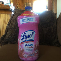 Lysol® Clean & Fresh Cherry Blossom & Pomegranate Multi-Surface Cleaner 52 fl. oz. Plastic Bottle uploaded by Amari Z.