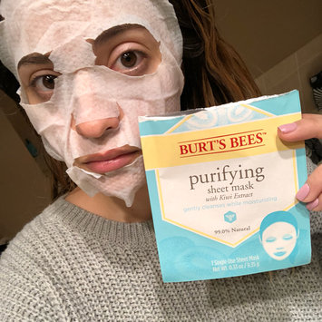 Photo of Burt's Bees Purifying Sheet Mask uploaded by Ariel T.
