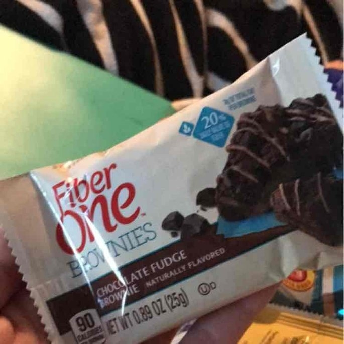Fiber One 90 Calorie Chocolate Fudge Brownies uploaded by Delaney W.