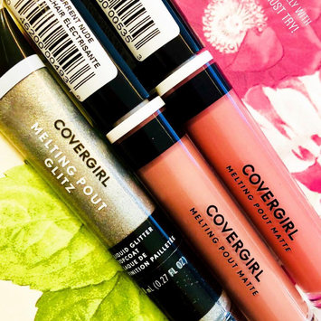 Photo of COVERGIRL Melting Pout Glitz Liquid Lipstick uploaded by Brittney R.