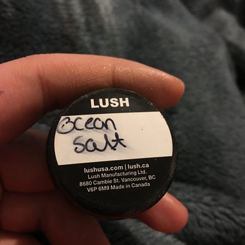 Photo of LUSH Ocean Salt Face and Body Scrub uploaded by Brianna P.