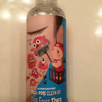 Photo of Elizavecca Hell Pore Clean Up AHA Fruit Toner 200ml 200ml uploaded by Alicia C.