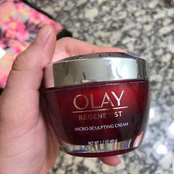 Photo of Olay Regenerist Micro-Sculpting Cream Face Moisturizer uploaded by Ashley R.