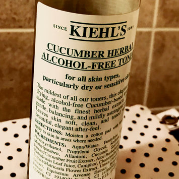 Photo of Kiehl's Cucumber Herbal Alcohol-Free Toner uploaded by Cyndi G.