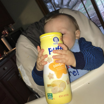 Photo of Gerber® Puffs Peach uploaded by Jessica N.