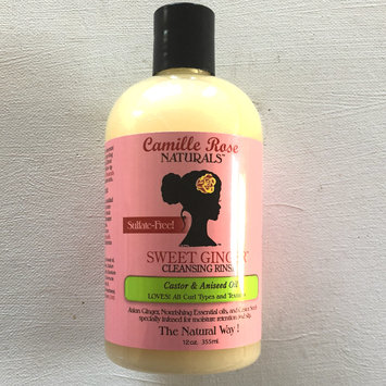 Photo of Camille Rose Sweet Ginger Sulfate Free Cleansing Rinse 12 oz uploaded by Kendro T.