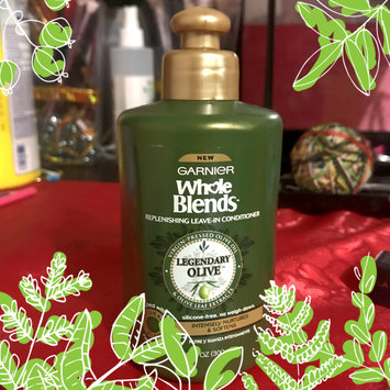 Photo of Garnier Whole Blends™ Replenishing Leave-in Conditioner with Virgin Pressed Olive Oil & Olive Leaf Extracts uploaded by Nancy D.