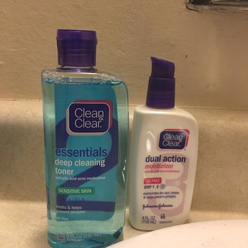 Photo of Clean & Clear® Essentials Deep Cleaning Toner For Sensitive Skin uploaded by Katie W.