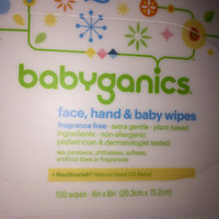 Babyganics Face, Hand & Baby Wipes Fragrance Free - 100 CT uploaded by Amber S.
