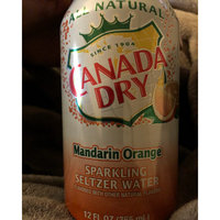 Canada Dry Mandarin Orange Sparkling Seltzer Water uploaded by Nicole N.