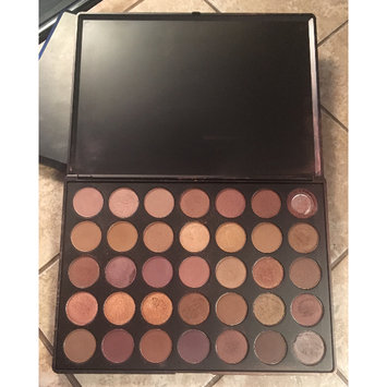 Photo of Morphe 35T - 35 Color Taupe Eyeshadow Palette uploaded by Maritza M.