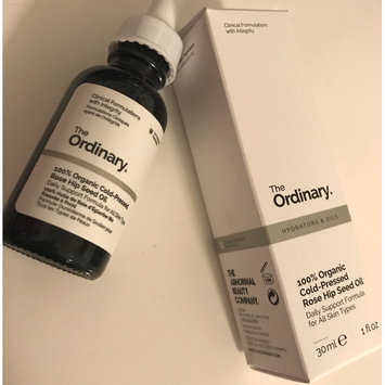 Photo of The Ordinary 100% Organic Cold-Pressed Rose Hip Seed Oil 1 oz/ 30 mL uploaded by Bethanie G.