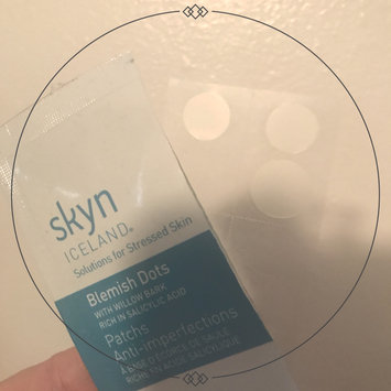 Photo of Skyn Iceland Blemish Dots with Salicylic Acid uploaded by Elisibeth S.