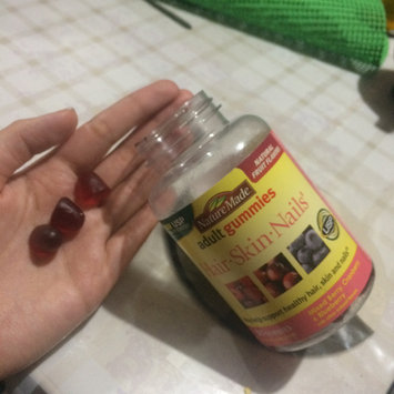 Photo of Nature Made Adult Gummies Hair-Skin-Nails Mixed Berry Cranberry & Blueberry 90 Gummies uploaded by Rebeca D.