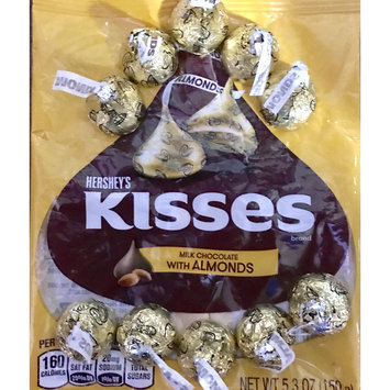 Photo of Hershey's Kisses Milk Chocolates With Almonds uploaded by Barbara B.