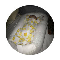 DockATot Deluxe Dock (Pristine White) - The All in One Baby Lounger, Sleep Positioner, Portable Crib and Bassinet - Perfect for Co Sleeping - Breathable & Hypoallergenic - Suitable from 0-8 months uploaded by Leah M.