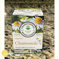 Traditional Medicinals Organic Chamomile Herbal Supplement Tea, 16 count, .74 oz, (Pack of 3) uploaded by Himali B.