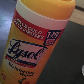 Photo of Lysol Disinfecting Wipes - Lemon uploaded by Lisa M.