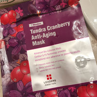 Leaders 7 Wonders Tundra Cranberry Anti-Aging Sheet Mask uploaded by Lyndsey H.