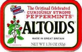 Photo of Altoids Curiously Strong Cinnamon Mints uploaded by Krystal E.