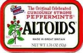 Altoids Cinnamon Mints uploaded by Krystal E.