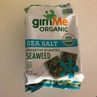 GimMe - Organic Roasted Seaweed Snacks Sea Salt - 0.17 oz. uploaded by Kendro T.