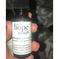 philosophy when hope is not enough facial firming serum uploaded by Keliana K.