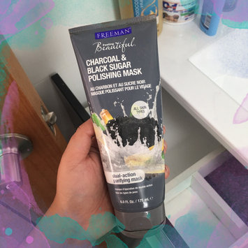 Photo of Freeman Feeling Beautiful™ Polishing Charcoal & Black Sugar Gel Mask + Scrub uploaded by Ismell C.