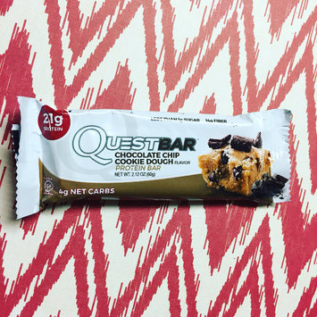 Photo of Quest Nutrition - QuestBar Natural Protein Bar Chocolate Chip Cookie Dough - 2.12 oz. uploaded by Kelly R.