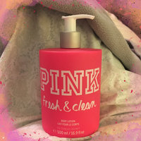 Victoria's Secret Pink Fresh And Clean Body Lotion uploaded by Megan S.