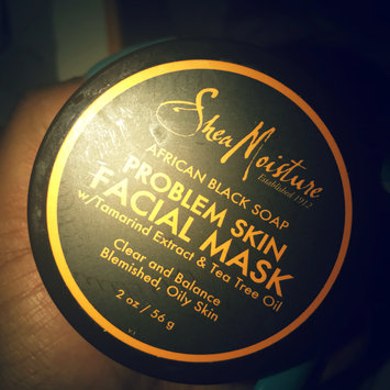 Photo of SheaMoisture African Black Soap Problem Skin Facial Mask uploaded by Tatiana t.