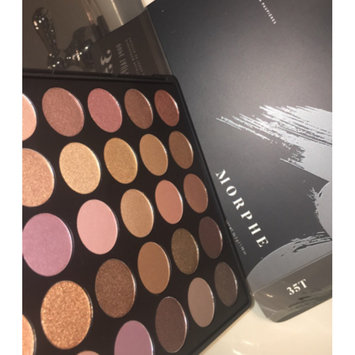 Photo of Morphe 35T - 35 Color Taupe Eyeshadow Palette uploaded by Emily A.