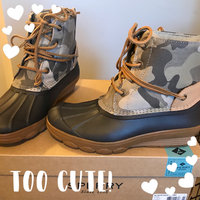Sperry Top-Sider 8M Black Saltwater Duck Quilted Booties uploaded by Teresa C.