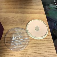 Rimmel London Stay Matte Pressed Powder uploaded by avani p.