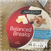 Sargento® Balanced Breaks® Natural Sharp White Cheddar Cheese with Cashews and Raisins uploaded by Marissa C.