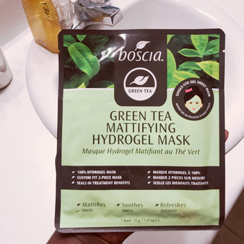 Photo of boscia Green Tea Mattifying Hydrogel Mask uploaded by Jazz B.