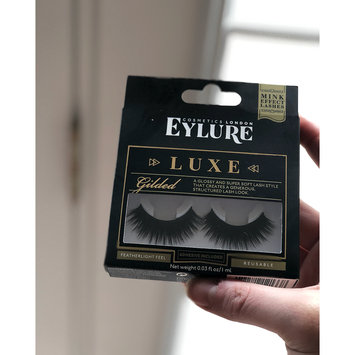 Photo of Eylure Luxe Faux Mink Gilded Lashes uploaded by Devona L.