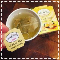 Twinings® Lemon & Ginger Herbal Tea uploaded by Christina C.