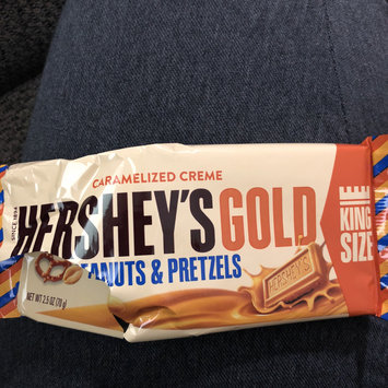 Photo of Hershey's Gold Peanuts & Pretzels in Caramelized Crème uploaded by Monica C.