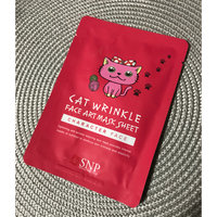 SNP Cat Wrinkle Face Art Mask Sheet uploaded by Brittany W.