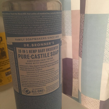 Photo of Dr. Bronner's 18-in-1 Hemp Baby Unscented Pure - Castile Soap uploaded by Ryane C.