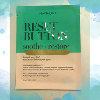 Peach & Lily Reset Button Sheet Mask uploaded by Himali B.