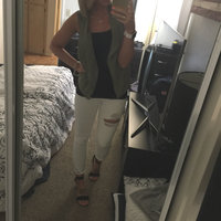 Hollister Ripped White High-Rise Super Skinny Jeans uploaded by Ashley O.