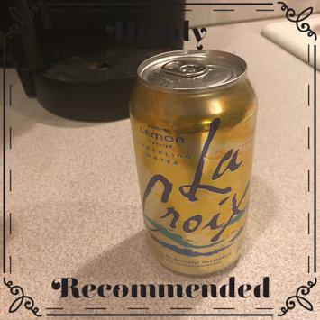 Photo of La Croix Sparkling Lemon Water uploaded by Rissy C.
