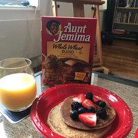 Aunt Jemima Whole Wheat Blend Pancake & Waffle Mix 35 Oz Box uploaded by Aura C.